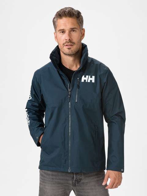 Pánske bundy modrá Active Hooded Midlayer Bunda Helly Hansen