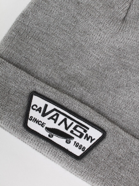 Čepice Vans Mn Milford Beanie Heather Grey Vans