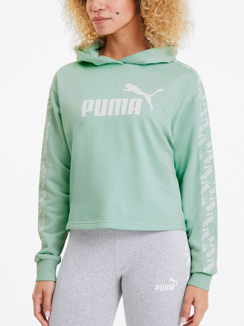 Mikina Puma Amplified Cropped Hoody Tr