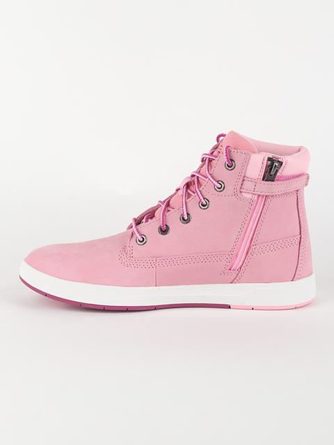 Topánky Timberland Davis Square 6 Inch Prism Pink