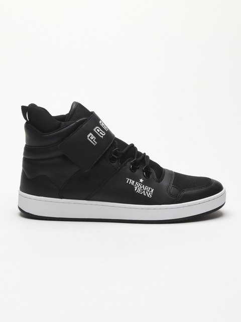 Topánky Trussardi Sneakers Synthetic Printed Strap