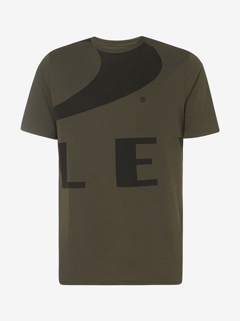 Tričko Oakley Big Ellipse Tee New Dark Brush
