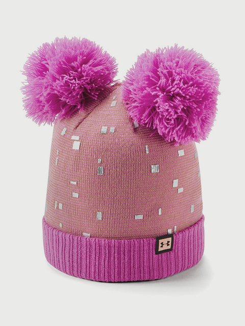 Čapica Under Armour Girls Double Pom Beanie