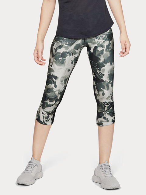 Kompresné legíny Under Armour Fly Fast Printed Capri