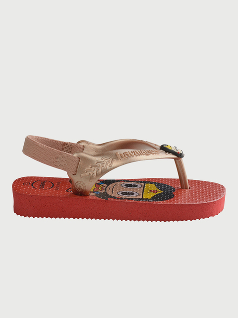 Žabky Havaianas Baby Herois Ruby Red