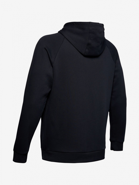 Mikina Under Armour Rival Fleece Printed Hoodie-Blk
