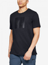 Tričko Under Armour Unstoppable Knit Tee-Blk (1)