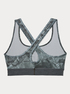 Kompresná podprsenka Under Armour Mid Crossback Printed Bra (4)
