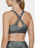 Kompresná podprsenka Under Armour Mid Crossback Printed Bra (2)