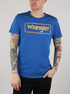 Tričko Wrangler B&Y Logo Tee Nautical Blue (1)