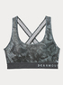Kompresná podprsenka Under Armour Mid Crossback Printed Bra (3)